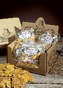 Box of 12 bags of Peanut Brittle