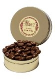 MAMMOTH MILK CHOCOLATE COATED PECAN HALVES 1LB GIFT TIN